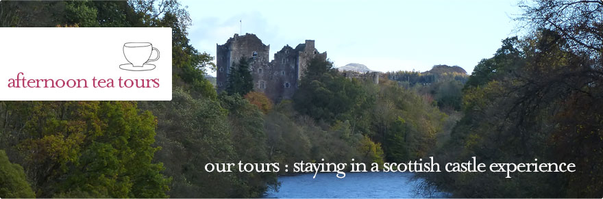 Afternoon Tea Tours - Staying in a Scottish Castle Experience