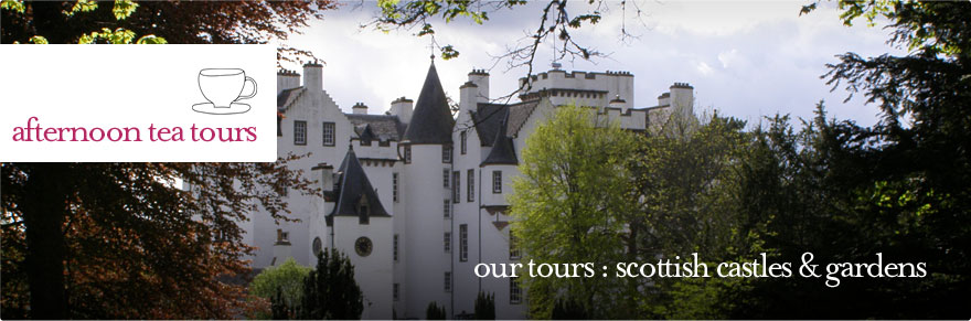 Afternoon Tea Tours - Private Tour of Scottish Castles and Gardens