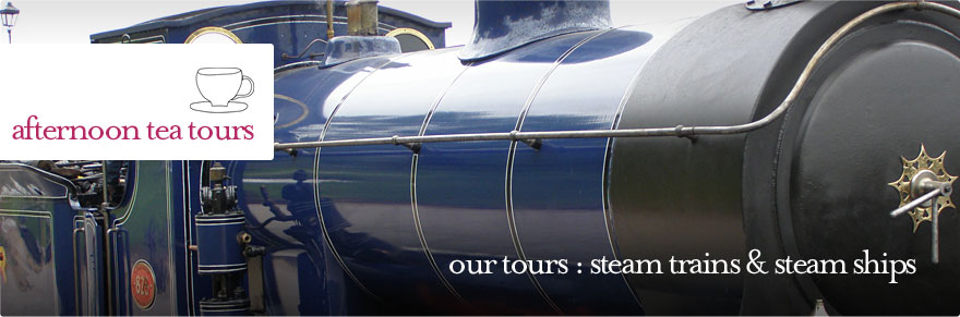 Afternoon Tea Tours - Scottish Steam Trains guided tour