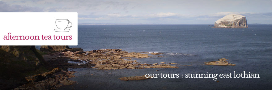 Afternoon Tea Tours - East Lothian guided tour