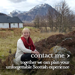contact us. together we can plan your unforgettable Scottish experience