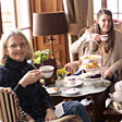 Ladies having Afternoon Tea
