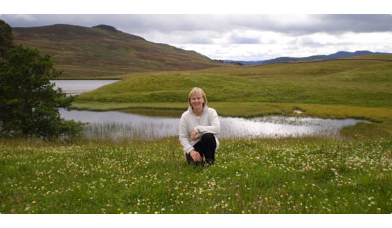 Helen Fraser - Scottish tour guide