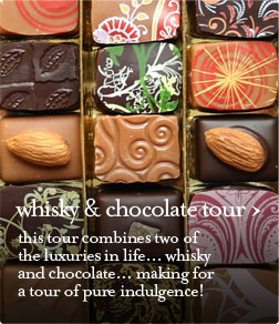 the whisky and chocolate guided tour