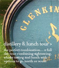distillery and lunch tour