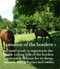 romance of the borders guided tour