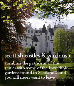 scottish castles and gardens guided tour