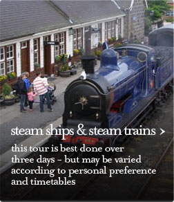 steam trips & steam trains