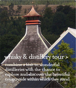 whisky and distillery guided tour
